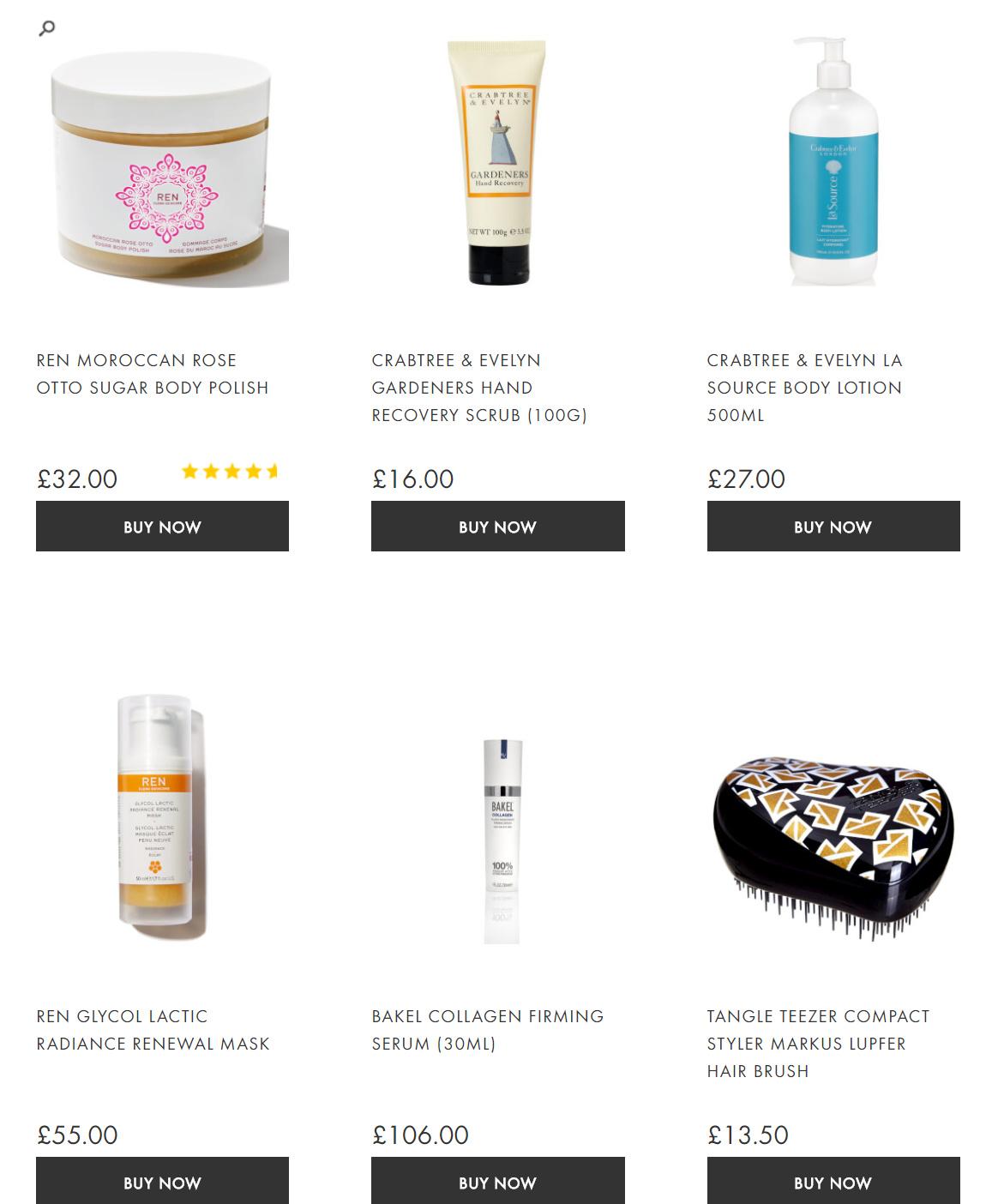 Beauty Expert discount summary
