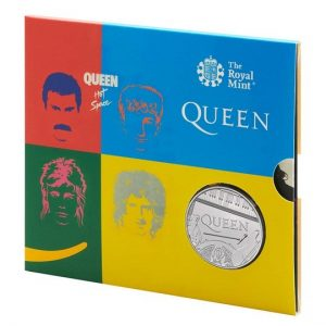 Queen £5 Brilliant Uncirculated Coin - Hot space