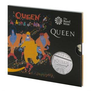 Queen £5 Brilliant Uncirculated Coin - A Kind of Magic